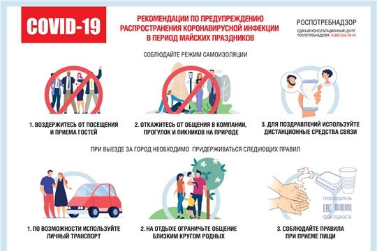 О рекомендациях для населения по профилактическим мероприятиям по предупреждению распространения новой коронавирусной инфекции