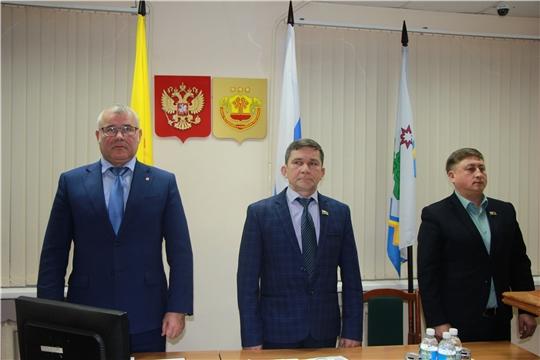 В администрации Чебоксарского района состоялось третье внеочередное заседание Собрания депутатов седьмого созыва