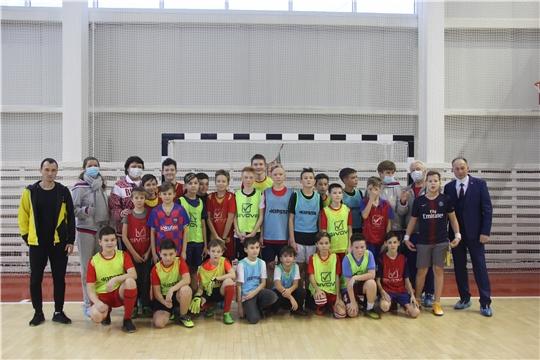 Делегация олимпийских чемпионов России посетила Чебоксарский район