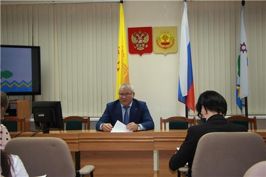 Расширенное заседание молодежного правительства Чебоксарского района с участием команды «Молодежь Чувашии»
