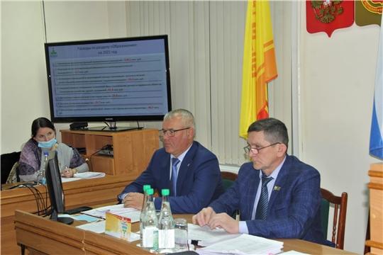 Собранием депутатов Чебоксарского района утвержден бюджет Чебоксарского района на 2021 год и на плановый период 2022 и 2023 годов