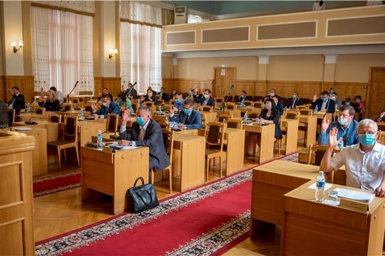 Выборы депутатов Чебоксарского городского Собрания депутатов седьмого созыва назначены на  13 сентября 2020 года