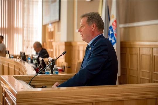 Состоялось продолжение 49-го очередного заседания Чебоксарского городского Собрания депутатов
