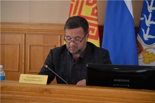 Состоится внеочередное  заседание Чебоксарского городского Собрания депутатов