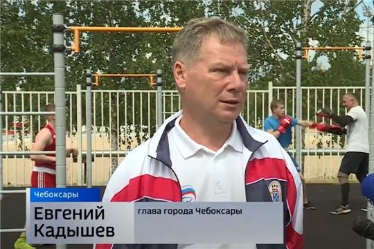 Глава Чебоксар поздравил боксеров с профессиональным праздником
