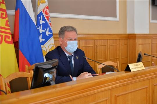 В столице Чувашии состоялось внеочередное 50-ое заседание Чебоксарского городского Собрания депутатов