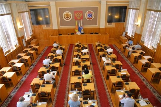 Постоянные комиссии ЧГСД изучают проекты решений очередного заседания
