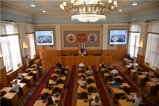 Состоялись публичные слушания по отчету об исполнении бюджета города Чебоксары  за 2019 год