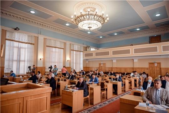 Депутаты присвоили звание Почетный гражданин города Чебоксары Наталии Партасовой