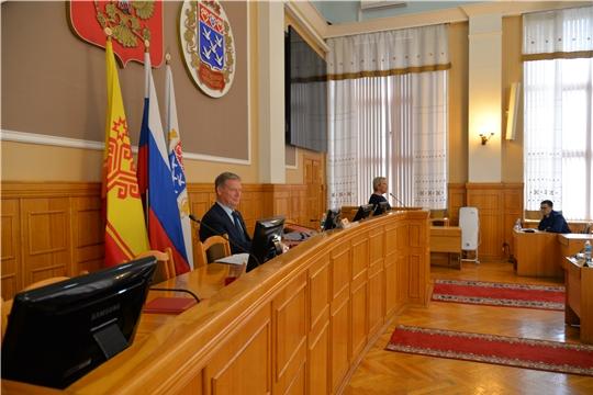 Глава города Чебоксары Евгений Кадышев провел внеочередное 53-е заседание ЧГСД