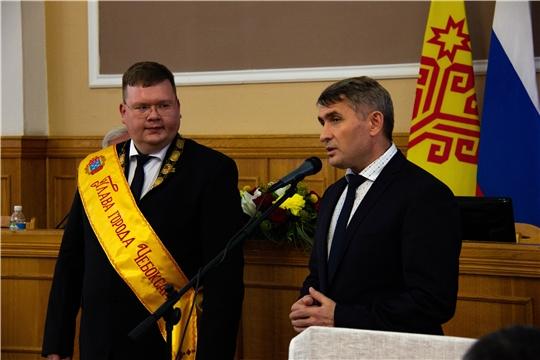 Главой города Чебоксары ‒ председателем Чебоксарского городского Собрания депутатов избран Олег Кортунов