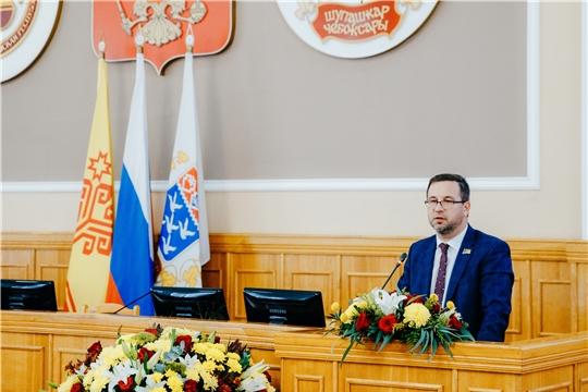 Утверждена структура Чебоксарского городского Собрания депутатов седьмого созыва