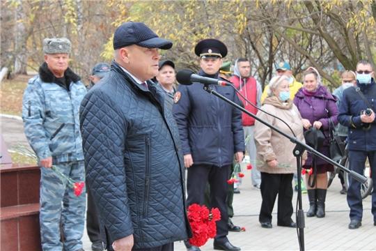 Виктор Горбунов принял участие в мероприятии, посвященном 25-летию создания 101-ой особой бригады оперативного назначения