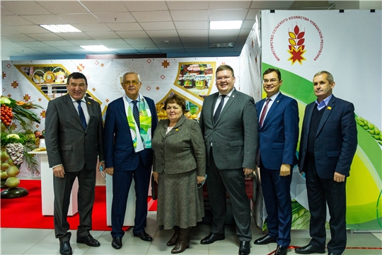 Глава города Чебоксары Олег Кортунов принял участие в торжественном мероприятии, посвященном Дню работника сельского хозяйства и перерабатывающей промышленности
