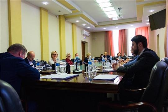 Евгений Кадышев провел первое заседание постоянной комиссии Чебоксарского городского Собрания  депутатов по бюджету