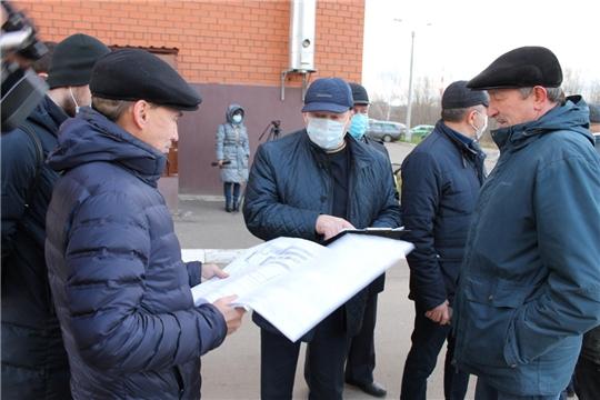 Состоялось выездное заседание постоянной комиссии Чебоксарского городского Собрания депутатов по вопросам градостроительства, землеустройства и развития территории города