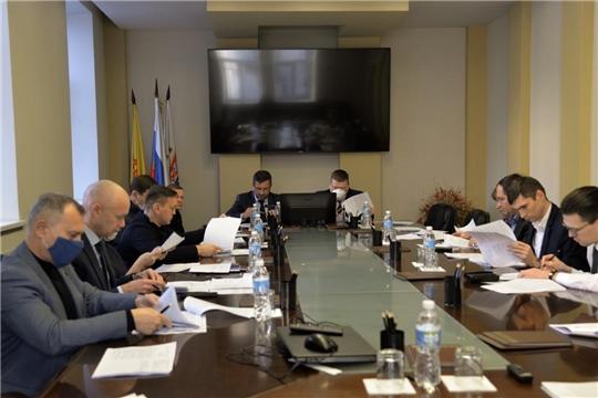 Состоялось рабочее совещание по вопросу разработки и принятия Регламента Чебоксарского городского Собрания депутатов седьмого созыва