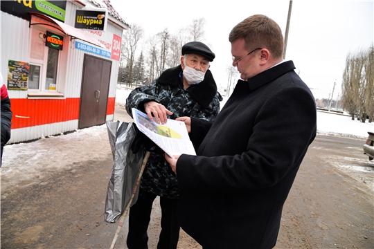 Глава города Олег Кортунов провел выездное совещание по обращениям граждан