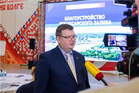 Депутаты Чебоксарского городского Собрания депутатов приняли участие в общественном обсуждении благоустройства чебоксарского залива