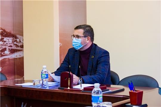 Заместитель главы города Чебоксары Николай Владимиров провел рабочее совещание по вопросу разработки и принятия Регламента Чебоксарского городского Собрания депутатов седьмого созыва