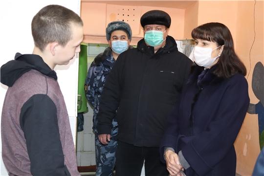 Уполномоченный по правам ребенка посетила следственный изолятор № 2 УФСИН по Чувашской Республике – Чувашии
