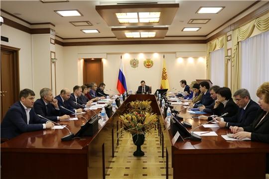 Состоялось заседание проектного комитета по реализации национального проекта «Жилье и городская среда» в Чувашской Республике