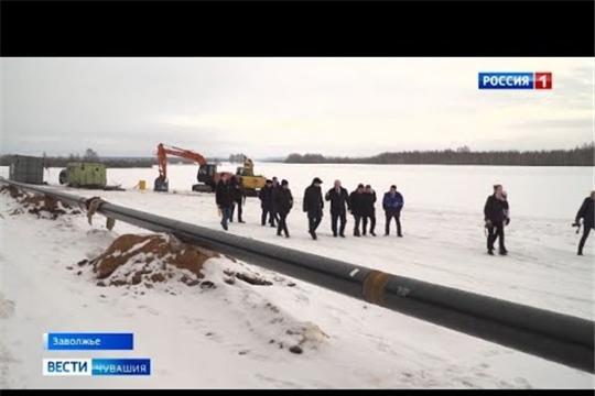 В Чувашии приступили к прокладке 52 километров газовых труб