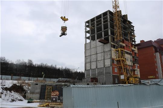 Минстрой Чувашии продолжает мониторинг объектов долевого строительства