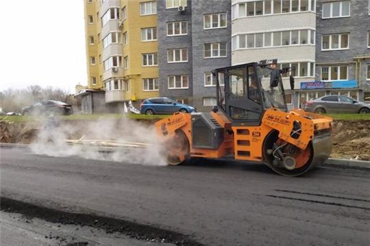 В рамках национального проекта «Жилье» в столице республики строятся автомобильные дороги