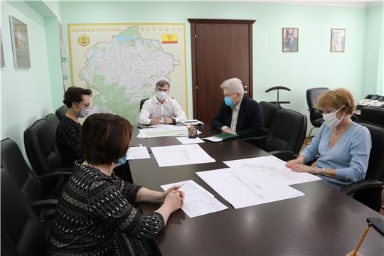 Министр Александр Героев провел рабочее совещание по вопросу обустройства велодорожки в Заволжье