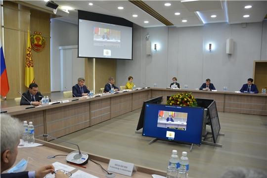 Врио Главы Чувашии Олег Николаев обсудил актуальные вопросы с представителями строительной отрасли