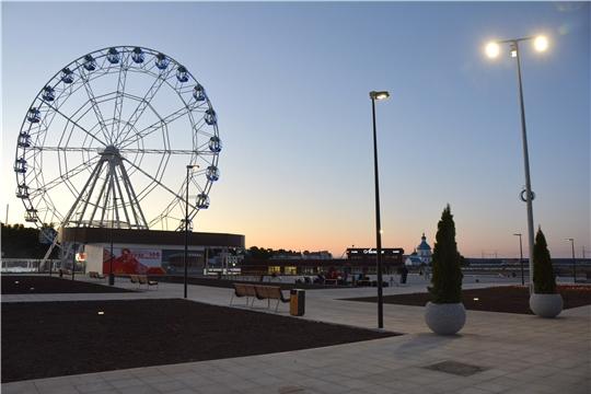 В столице Чувашии состоялось техническое открытие Красной площади
