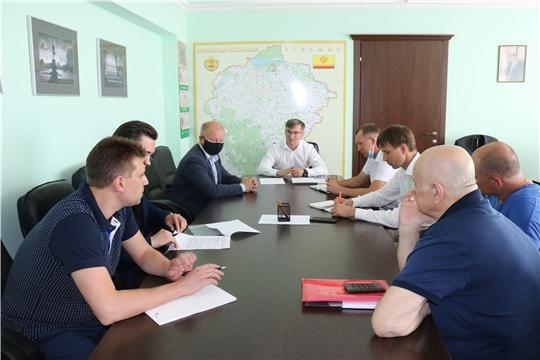 На совещании в Минстрое Чувашии обсудили перспективы строительства очистных сооружений