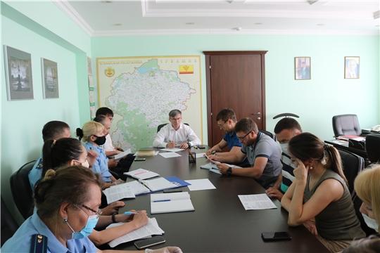 В Минстрое Чувашии обсудили возможные варианты завершения строительства проблемных объектов ООО «СЗ «Лидер»