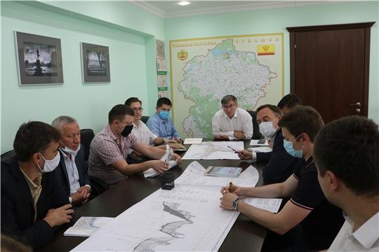 Министр Александр Героев провел рабочее совещание по вопросу строительства инженерной инфраструктуры в микрорайоне «Серебряные ключи»