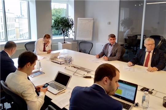 Олег Николаев в Москве обсудил вопросы восстановления прав дольщиков Чувашии