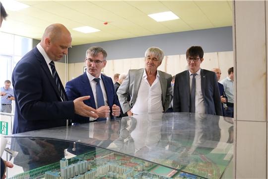 В Чувашской Республике с официальным визитом находится заместитель Министра строительства и жилищно-коммунального хозяйства Российской Федерации Дмитрий Волков