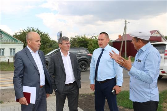 Министр Александр Героев встретился с представителями строительной отрасли Шемуршинского, Батыревского и Яльчикского районов