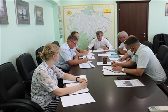 Министр Александр Героев поручил актуализировать генеральную схему газоснабжения и газификации Чувашской Республики