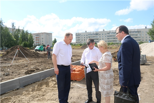 Министр Александр Героев встретился со строителями Аликовского, Вурнарского районов и г. Шумерля