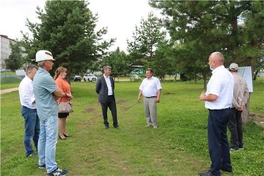 Министр Александр Героев посетил Красночетайский, Ядринский и Моргаушский районы