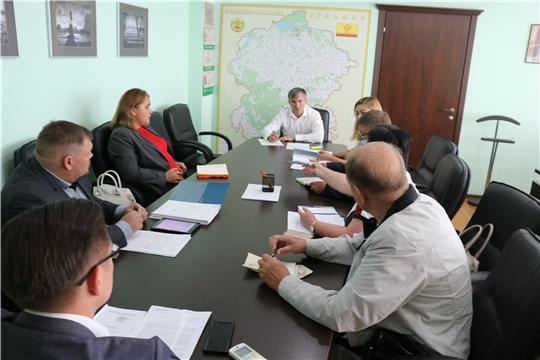 В Минстрое Чувашии обсудили отдельные проблемные вопросы, выявленные в ходе выездов в районы