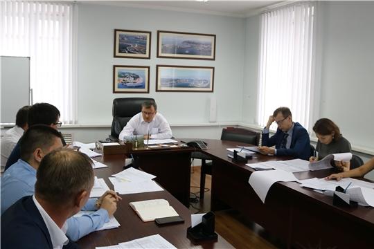 В Минфине Чувашии обсудили бюджетные проектировки Минстроя Чувашии на 2020-2021 годы
