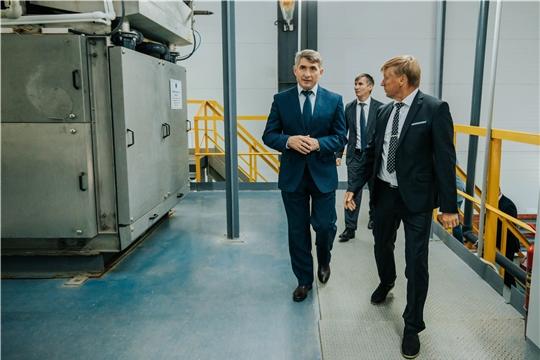 Олег Николаев посетил чебоксарский «Водоканал»