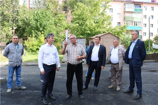 Министр Александр Героев посетил г. Канаш, Канашский и Цивильский районы