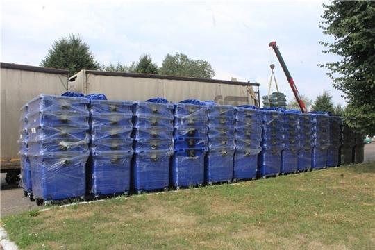 До конца года в Чувашии будет установлено более 5000 евроконтейнеров