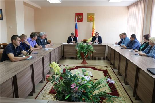 Министр Александр Героев посетил г. Шумерля, Порецкий и Шумерлинский районы