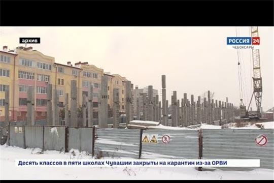 В Чебоксарах долгострой ООО 'Алза' достроят за 444 миллиона рублей
