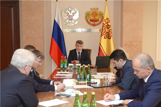 Олег Николаев провел совещание по вопросам благоустройства территорий