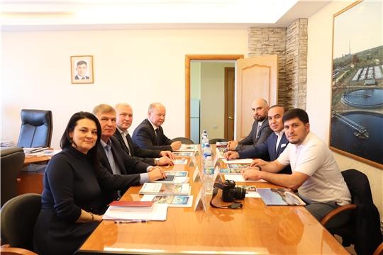 Биологические очистные сооружения г. Новочебоксарска посетила делегация из Дагестана и Татарстана